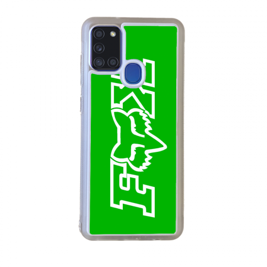 Coque silicone orange...