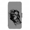Coque Galaxy S7 EDGE Lady skull vert