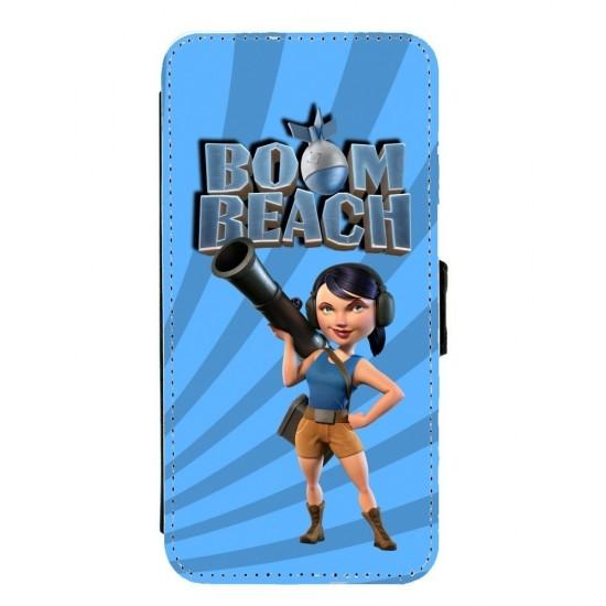 Coque à rabat Galaxy S6 Fan...