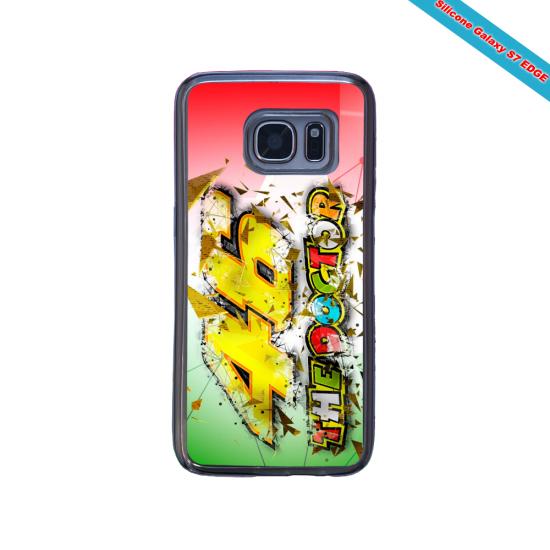 Coque silicone verte Iphone 7 ou 8 verre trempé Hipster Casquette