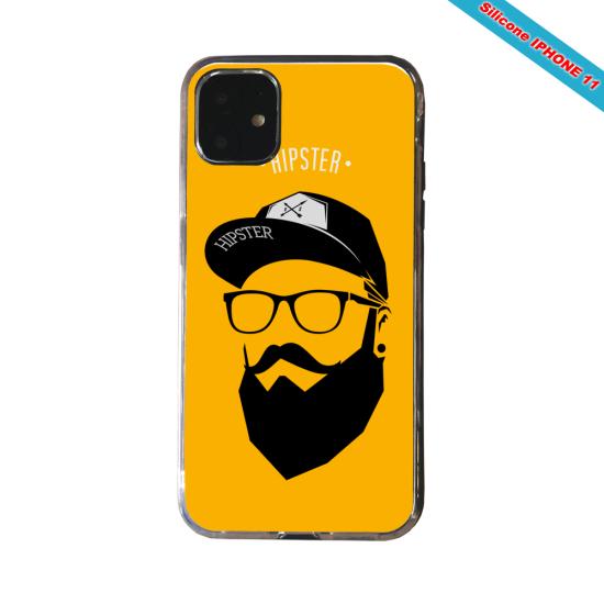 Coque Galaxy S7 Abstrait jaune