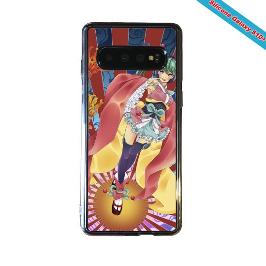 Coque silicone Huawei P8 Fan d'Overwatch Zenyatta super hero