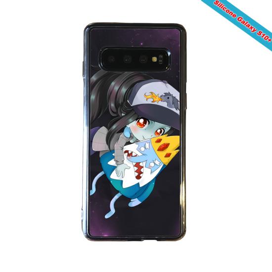 Coque silicone Huawei P8 Fan d'Overwatch Zarya super hero