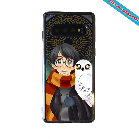 Coque silicone Huawei P8 Fan d'Overwatch Winston super hero