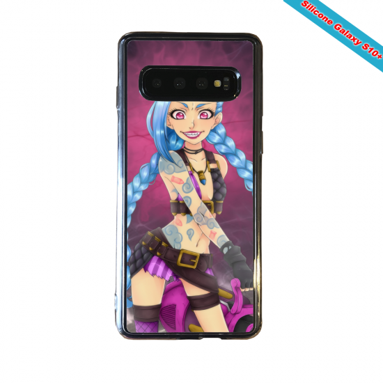 Coque silicone Huawei P8 Fan d'Overwatch Tracer super hero