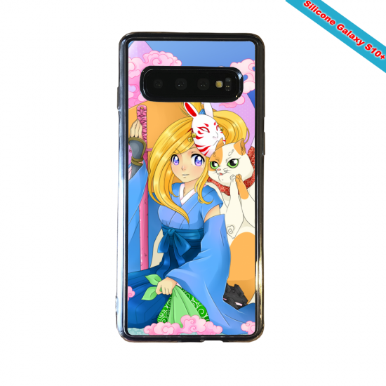 Coque silicone Huawei P8 Fan d'Overwatch Sombra super hero