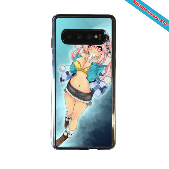 Coque silicone Huawei P8 Fan d'Overwatch Soldat 76 super hero