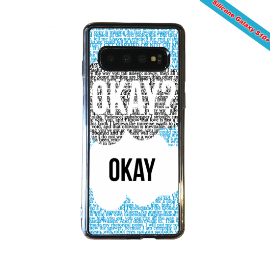 Coque silicone Huawei P8 Fan d'Overwatch Sigma super hero