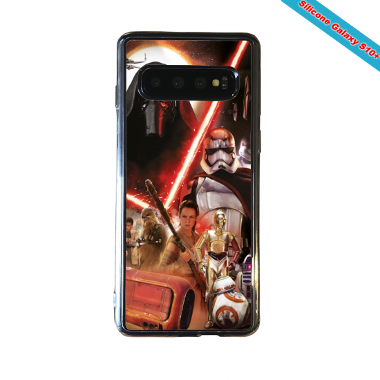Coque silicone Huawei P8 Fan d'Overwatch Reinhardt super hero