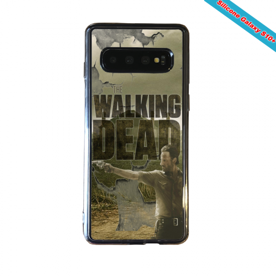 Coque silicone Huawei P8 Fan d'Overwatch Pharah super hero