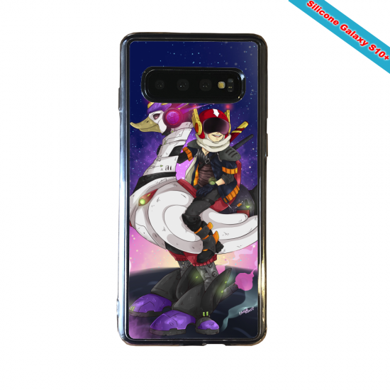 Coque silicone Huawei P8 Fan d'Overwatch Hanzo super hero