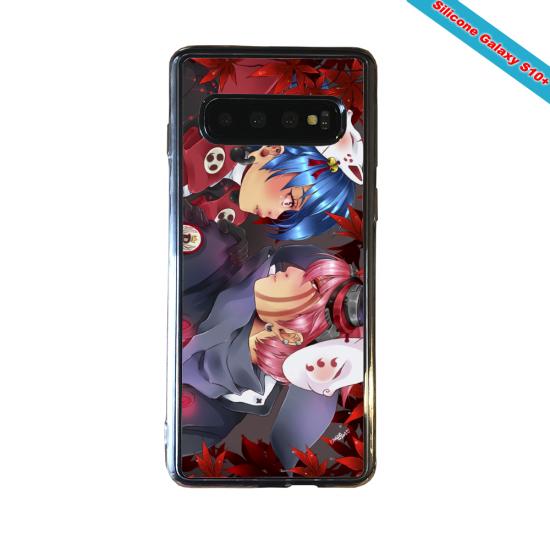 Coque silicone Huawei P8 Fan d'Overwatch Genji super hero