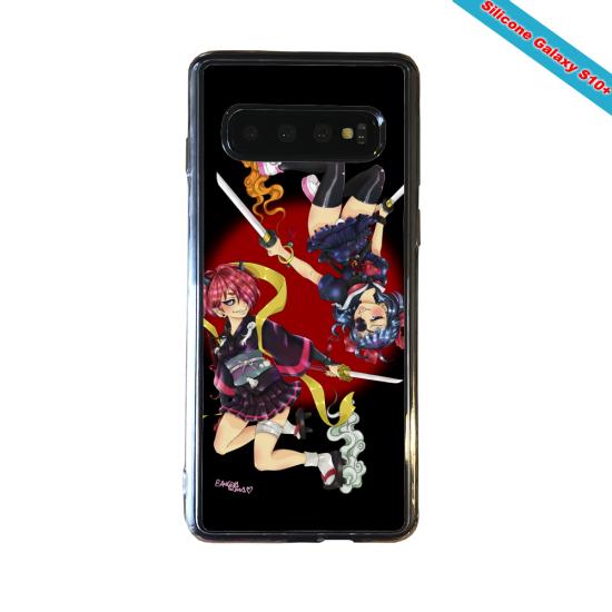 Coque silicone Huawei P8 Fan d'Overwatch Faucheur super hero
