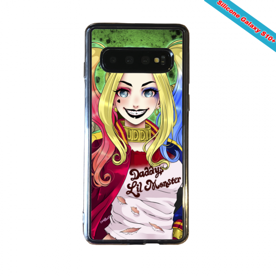Coque silicone Huawei P8 Fan d'Overwatch Fatale super hero