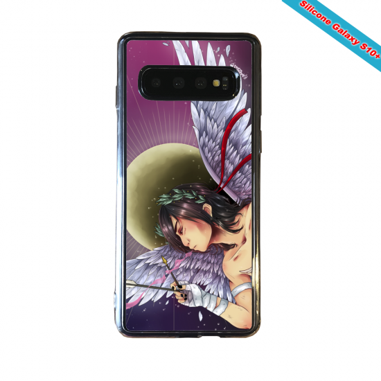 Coque silicone Huawei P8 Fan d'Overwatch D.Va super hero