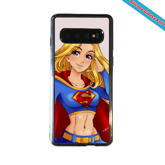 Coque silicone Huawei P8 Fan d'Overwatch Chacal super hero