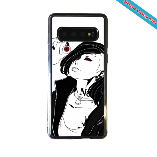 Coque silicone Huawei P8 Fan d'Overwatch Brigitte super hero