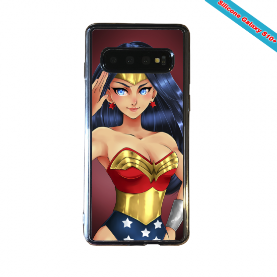 Coque silicone Huawei P8 Fan d'Overwatch Bouldozer super hero