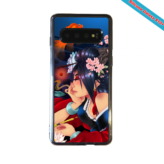 Coque silicone Huawei P8 Fan d'Overwatch Bastion super hero