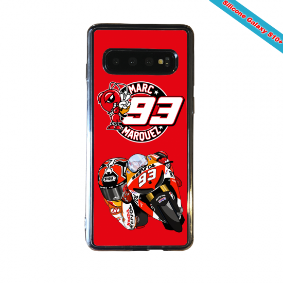 Coque silicone Huawei P8 Fan d'Overwatch Ashe super hero