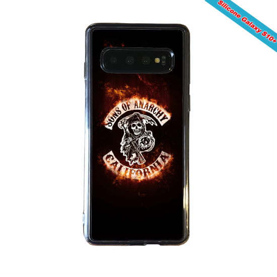 Coque silicone Huawei P8 Fan de Rugby Clermont fury