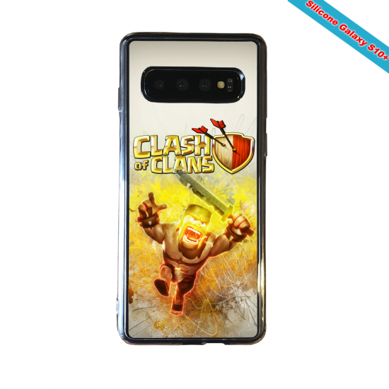 Coque silicone Huawei P8 Fan de Ligue 1 Monaco splatter
