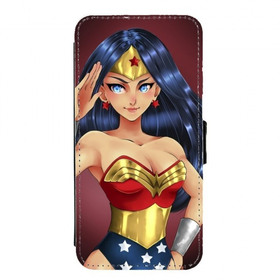 Coque silicone Huawei P10 Fan d'Overwatch Fatale super hero