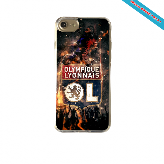 Coque silicone Huawei P10 PLUS Fan de Ligue 1 Strasbourg splatter