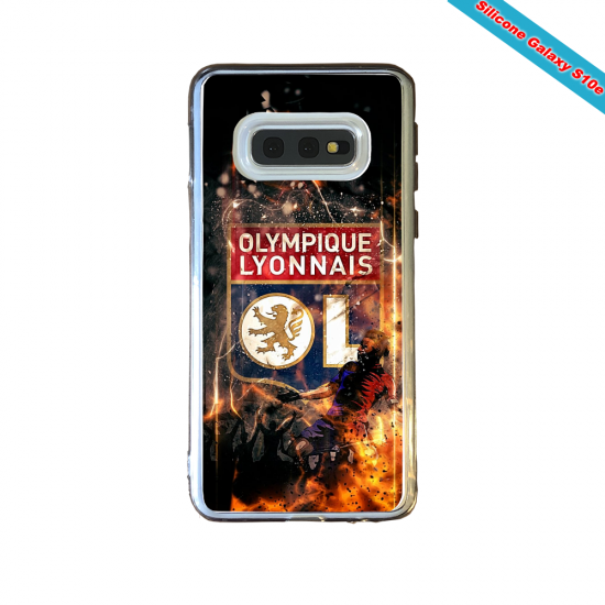Coque silicone Huawei P10 PLUS Fan de Ligue 1 Lille splatter