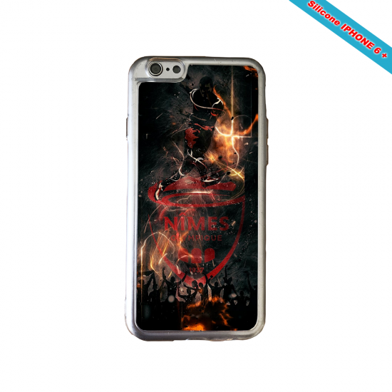 Coque silicone Huawei P10 PLUS Fan d'Overwatch Winston super hero