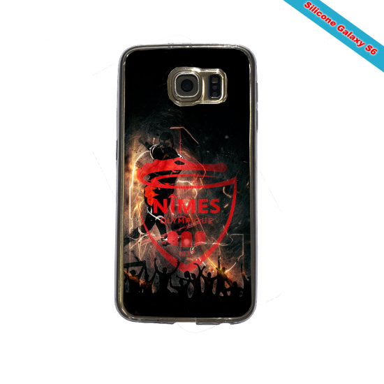 Coque silicone Huawei P10 PLUS Fan de Rugby Racing 92 fury