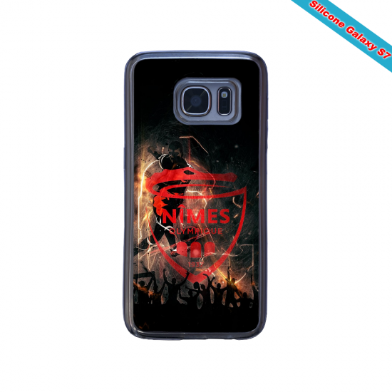 Coque silicone Huawei P10 PLUS Fan de Rugby Montpellier fury