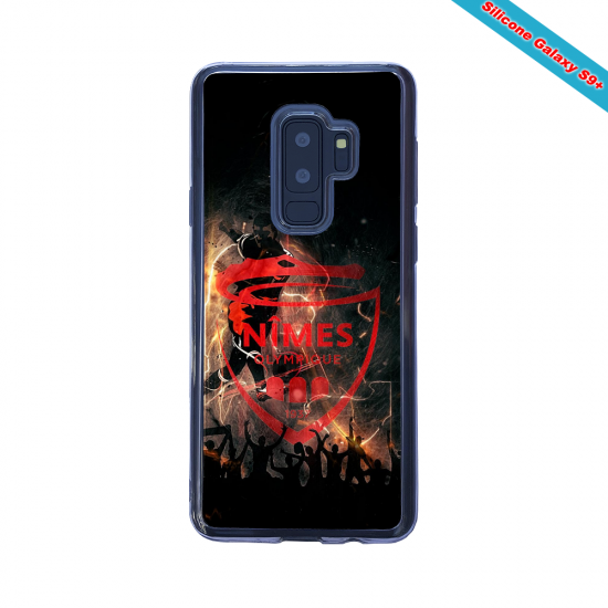 Coque silicone Huawei P10 PLUS Fan de Rugby Brive fury