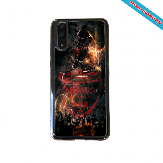 Coque silicone Huawei P10 PLUS Panda avec des coeurs