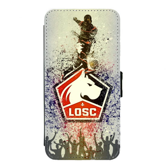 Coque silicone Iphone XR verre trempé Fan de Ligue 1 Toulouse splatter