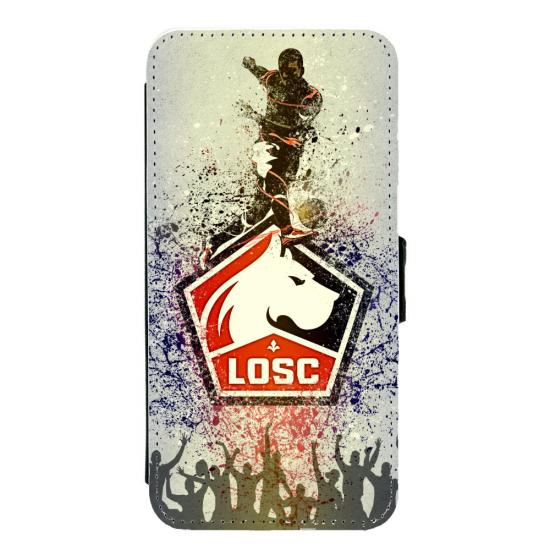 Coque silicone Iphone XR verre trempé Fan de Ligue 1 Reims splatter