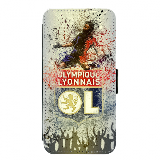 Coque silicone Iphone XR verre trempé Fan de Ligue 1 Montpellier splatter