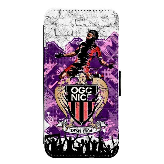 Coque silicone Iphone X ou XS verre trempé Fan de Ligue 1 Toulouse splatter