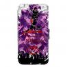 Coque silicone Iphone X ou XS verre trempé Fan de Ligue 1 Bordeaux splatter