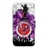 Coque silicone Iphone X ou XS verre trempé Fan de Ligue 1 St-Etienne cosmic