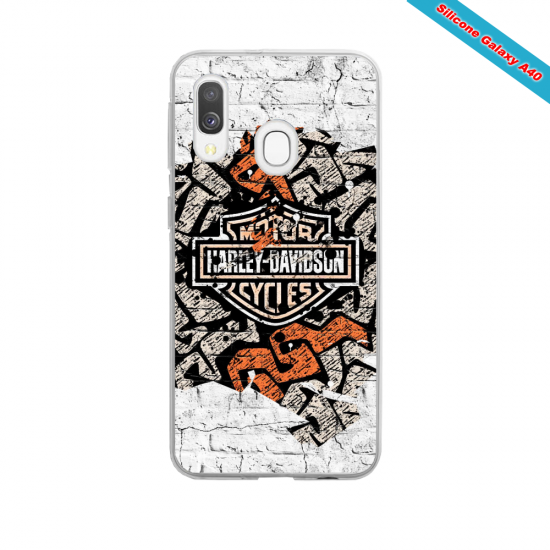 Coque Galaxy S4Mini Fan de Ducati Corse version burn