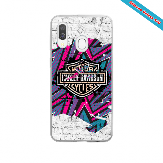 Coque Galaxy S3Mini Fan de Ducati Corse version burn