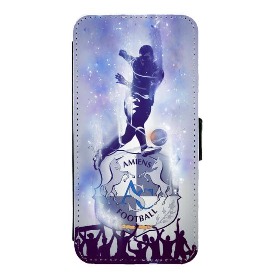 Coque silicone Iphone X ou XS verre trempé Fan de Rugby Bayonne fury