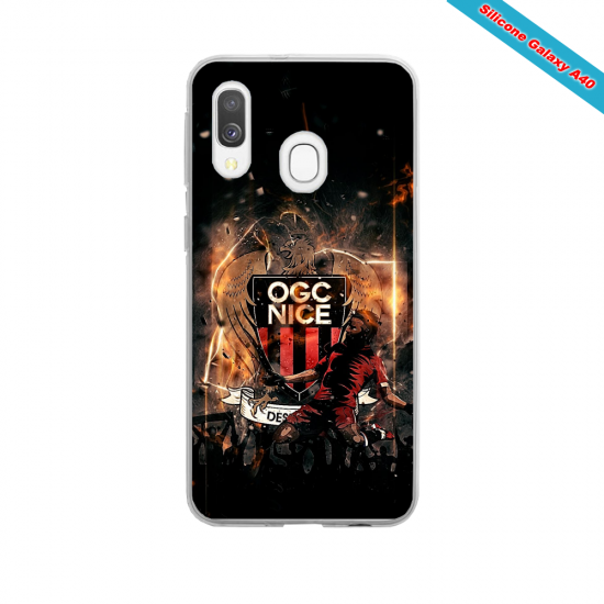 Coque silicone Iphone X ou XS verre trempé Fan de Rugby Toulon fury