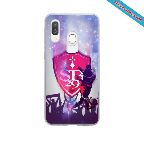 Coque silicone Iphone X ou XS verre trempé Panda avec des coeurs