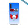Coque silicone verte Iphone X ou XS verre trempé Hipster Casquette couleur:Gris