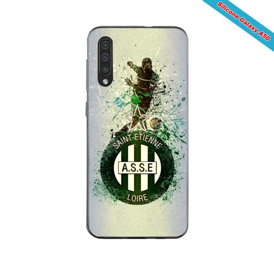Coque silicone Iphone 11 PRO verre trempé Fan de Ligue 1 Paris splatter