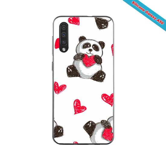 Coque silicone Iphone 11 PRO verre trempé Fan de Ligue 1 Monaco splatter