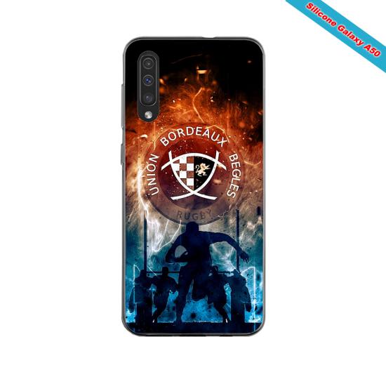 Coque silicone Iphone 11 PRO verre trempé Fan de Ligue 1 Lille splatter