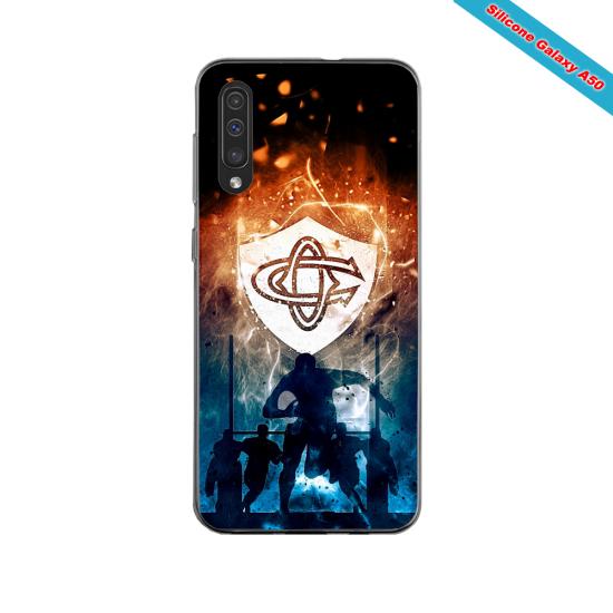 Coque silicone Iphone 11 PRO verre trempé Fan de Ligue 1 Brest splatter